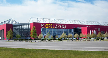 Tagungslocation Opel Arena